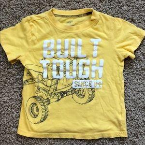Carter's tractor shirt